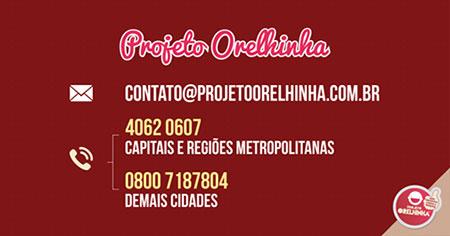 Contatos Projeto Orelhinha